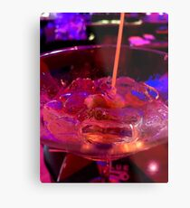 Martini Madness : Up Close and Personal ... Metal Print
