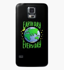 Cute Earth Day Hippie Earth in Space #earthday Case/Skin for Samsung Galaxy
