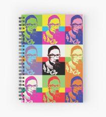 RBG - I DISSENT  Spiral Notebook