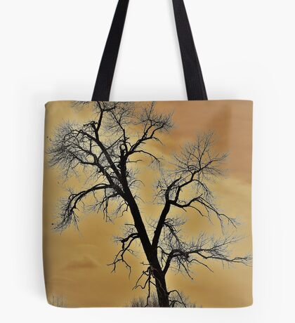 Winter Tree - A Longing For Spring Tote Bag