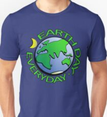 Earth Day Every Day, Save The Planet For Our Children Cute Earthy Hippie #earthday Unisex T-Shirt