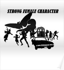 Strong Female Character Poster