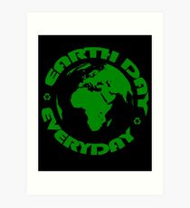 Earth Day Every Day, Save The Planet For Our Children #earthday Art Print