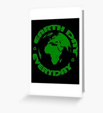 Earth Day Every Day, Save The Planet For Our Children #earthday Greeting Card