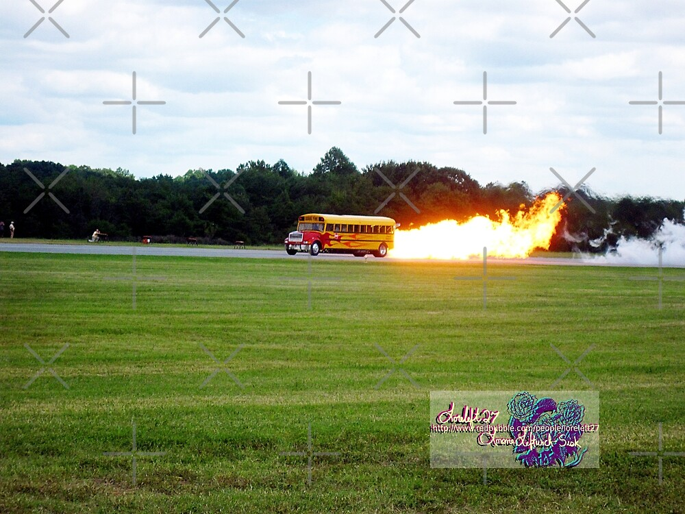 rocket powered  bus  by LoreLeft27