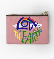 Don't Be Trashy, Save The Earth,  Help End Plastic Pollution. #earthday #lovetheearth Studio Pouch