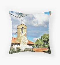 Mission. Throw Pillow
