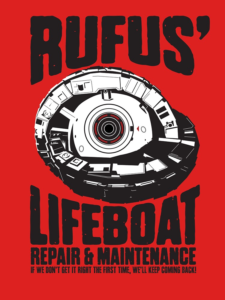 Rufus' Lifeboat Repair and Maintenance by Mindspark1