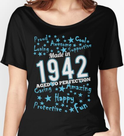 Made In 1942 - Aged To Perfection Women's Relaxed Fit T-Shirt
