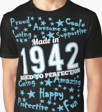Made In 1942 - Aged To Perfection Graphic T-Shirt