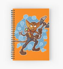 Ratchet and Clank Spiral Notebook