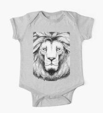 Lion Baby Body Kurzarm