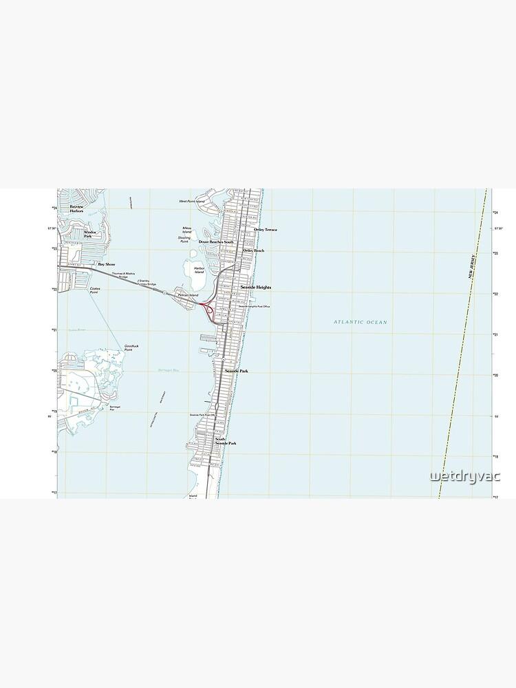 USGS TOPO Map New Jersey NJ Seaside Park 20110428 TM de wetdryvac