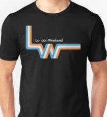 "Retro LWT ""ribbon"" television logo  Unisex T-Shirt"