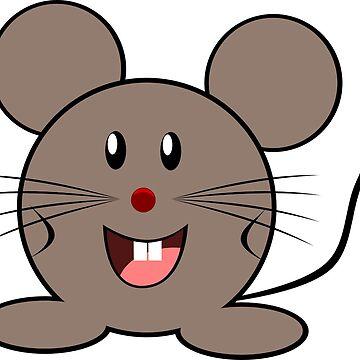 Cute Cartoon Mouse! by GeneralHooHa