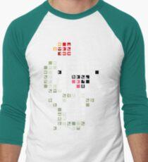 Fez Happy Gomez Tiles Men's Baseball ¾ T-Shirt