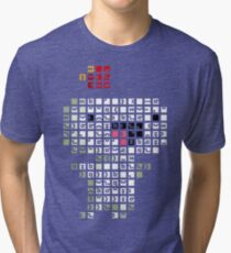 Fez Happy Gomez Tiles Tri-blend T-Shirt