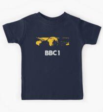 Retro BBC1 world globe ident Kids Tee