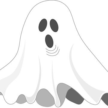 Cute Spooky Ghost by GeneralHooHa