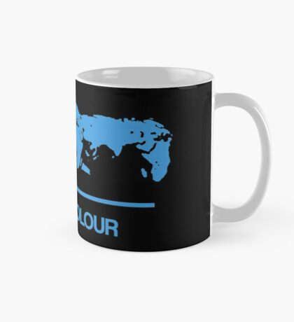 Retro BBC 1 Colour globe graphics Mug