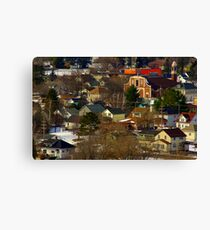 Italian North Side Canvas Print