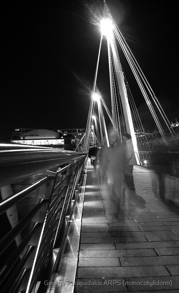 Hungerford / Golden Jubilee Bridge by George Parapadakis ARPS (monocotylidono)