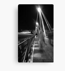 Hungerford / Golden Jubilee Bridge Canvas Print
