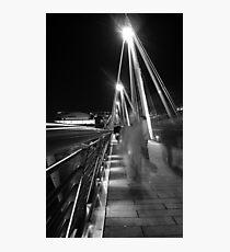 Hungerford / Golden Jubilee Bridge Photographic Print