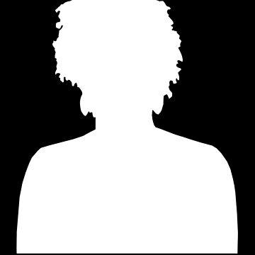 Marielle Franco Silhouette (Marielle Presente) - white by designite