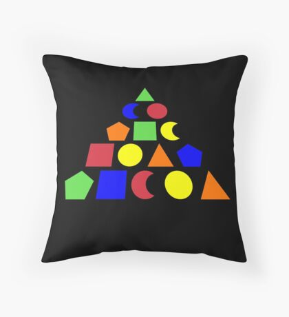 The Adventure Game drogna game Throw Pillow