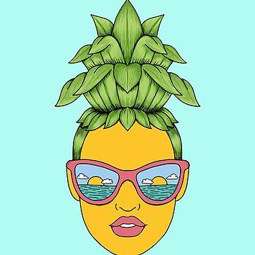 Pineapple Girl by coffeeman