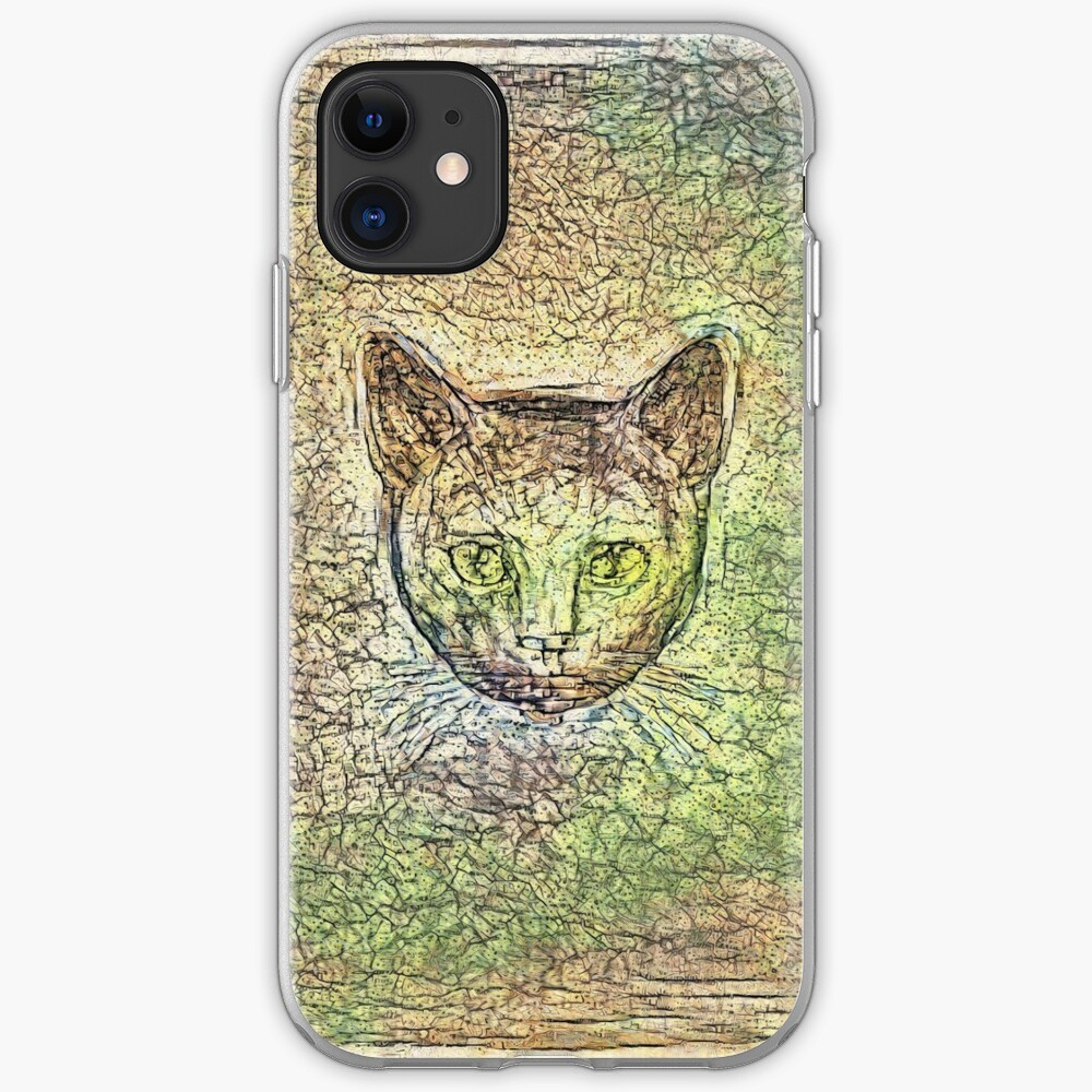 Cat on his way home iPhone Case & Cover