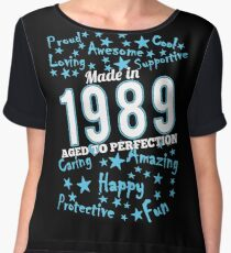 Made In 1989 - Aged To Perfection Chiffon Top