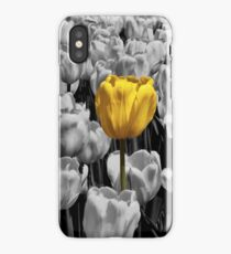 Alone in a crowd iPhone Case/Skin