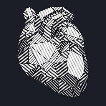 Diamond heart by rakelittle