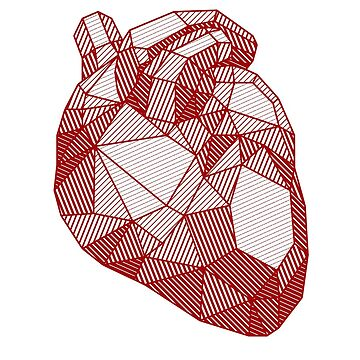 Ruby heart by rakelittle