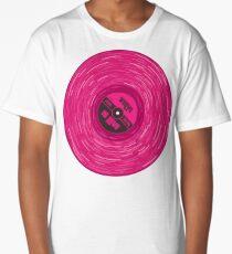Pink Vinyl Love Long T-Shirt