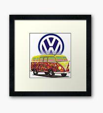 Volkswagen Hippie Framed Print