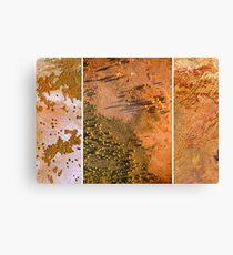 Exploring Scale - Sand. Canvas Print