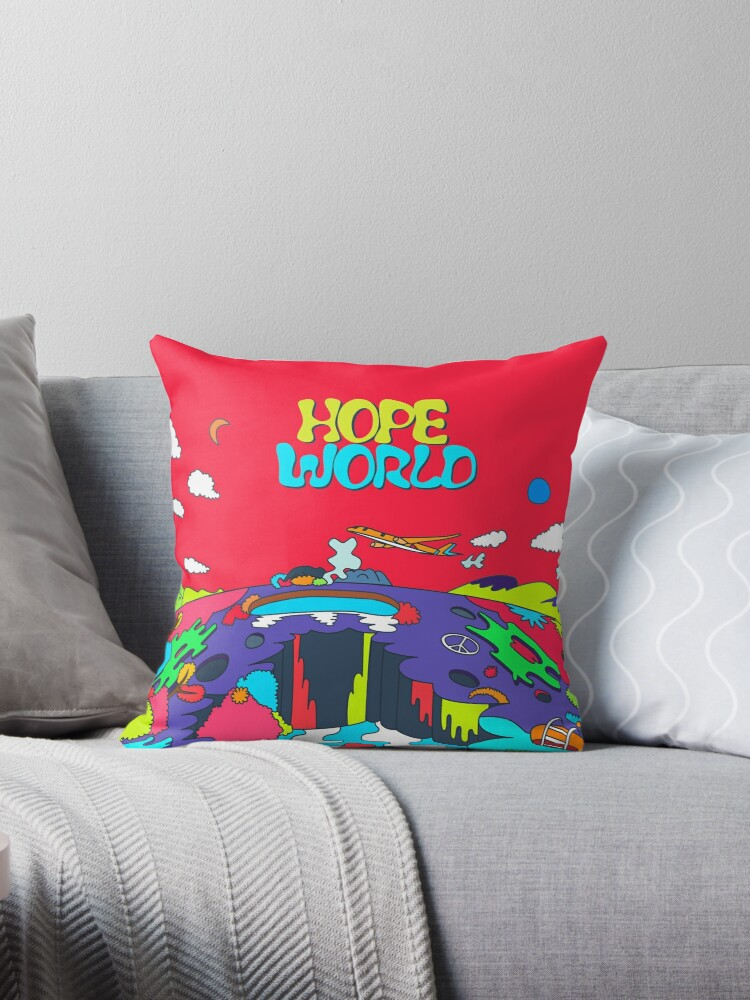 Quot J Hope Hope World Album Art Quot Throw Pillows By