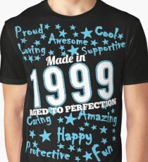 Made In 1999 - Aged To Perfection Graphic T-Shirt