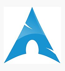 Arch Linux, Arch Logotype, Arch Logo, Arch Photographic Print