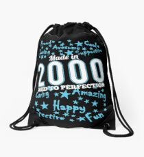 Made In 2000 - Aged To Perfection Drawstring Bag