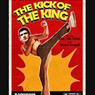 The Kick of the King (Eric Cantona) by Cat Byrne