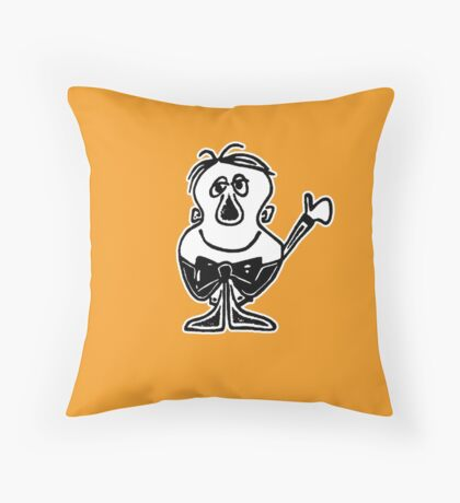 Charlie from Words & Pictures Throw Pillow