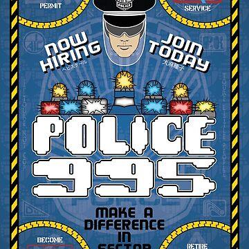 Blade Runner Police 995 Recruitment Poster by bgilbert
