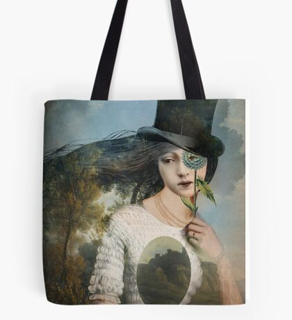 Portrait 11 with Hat Tote Bag