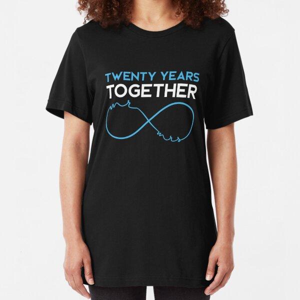 20th Wedding Anniversary Ideas T Shirts Redbubble