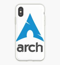 The Arch Way, Arch Linux, Arch Logotype, Arch Logo, Arch iPhone Case