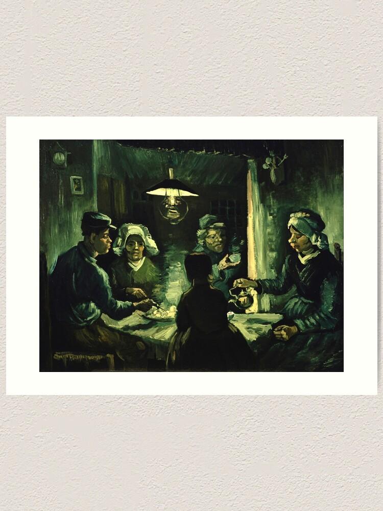 Vincent van Gogh - Los comedores de patatas | Lámina artística